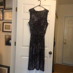 Lauren Ralph Lauren Navy Dress